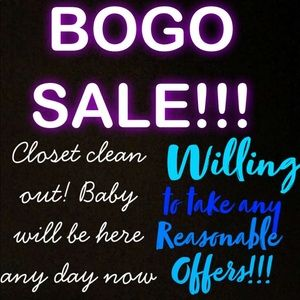 Other - BOGO Sale before baby gets here!